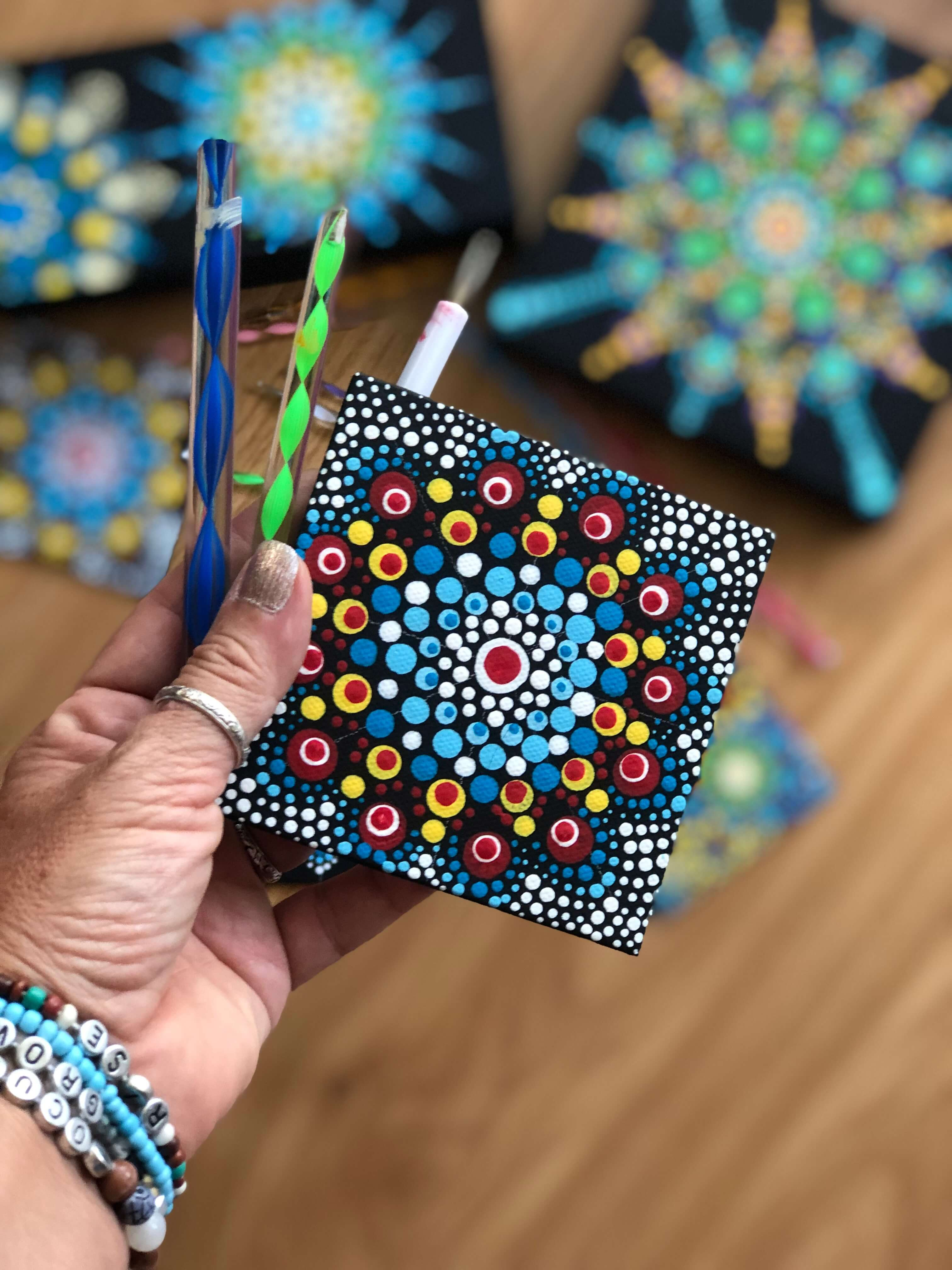 How to Get Started with Dot Mandalas